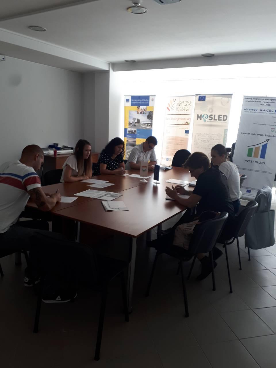 """Osmi sastanak zajedničkog upravljačkog tima za implementaciju projekta """"Invest in LOG"""""""