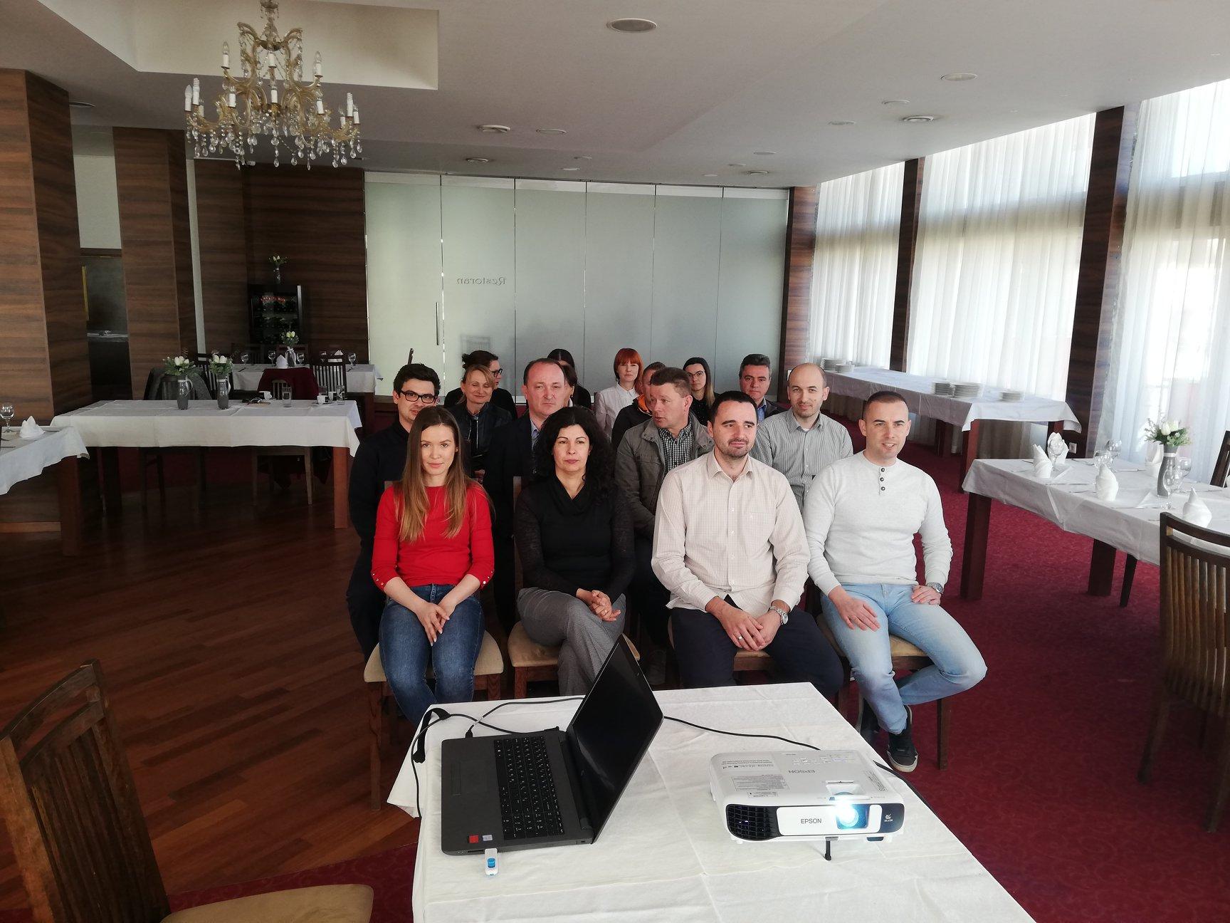 U Garešnici održane edukacije za male i srednje poduzetnike te obrtnike